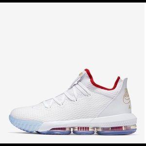 """Nike LeBron 16 Low """"Draft Day"""" - Men's Size 10"""